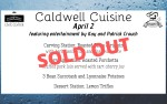 Image for  April Caldwell Cuisine Dinner