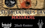 Image for ST VALENTINE'S DAY MASSACRE - REFLECTION OF FLESH / BLACK CANVAS / CANYON OF THE SKULL