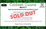 Image for March Caldwell Cuisine Dinner