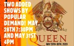 Image for **ADDED PERFORMANCE BY POPULAR DEMAND**  QUEEN TRIBUTE CONCERT