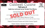 Image for February Caldwell Cuisine Dinner