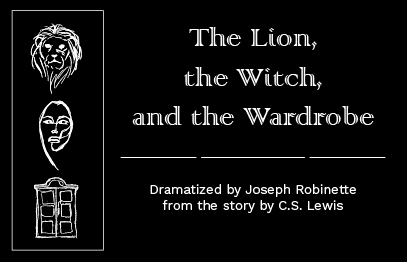 Image for **POSTPONED** ACT! for Youth Presents: THE LION, THE WITCH AND THE WARDROBE