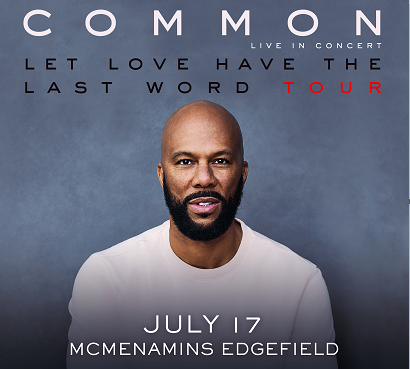 Image for COMMON - Let Love Tour with special guest  Nicole Bus