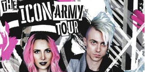 Image for Take Warning Presents: ICON FOR HIRE, AMY GUESS, All Ages (Bar w/ ID) *Rescheduled Date - Moved From Paris Theatre*
