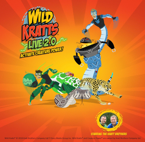 Image for WILD KRATTS LIVE 2.0:  ACTIVATE CREATURE POWER!