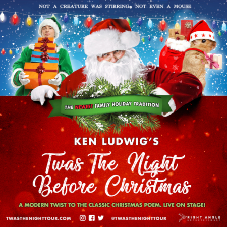 Image for Ken Ludwig's TWAS THE NIGHT BEFORE CHRISTMAS