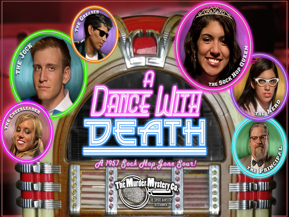 Image for MURDER MYSTERY DINNER - A  DANCE WITH DEATH - Friday, November 29, 2019