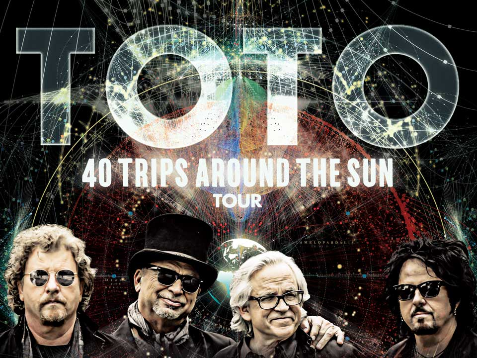 Image for TOTO - 40 TRIPS AROUND THE SUN - Saturday October 5, 2019