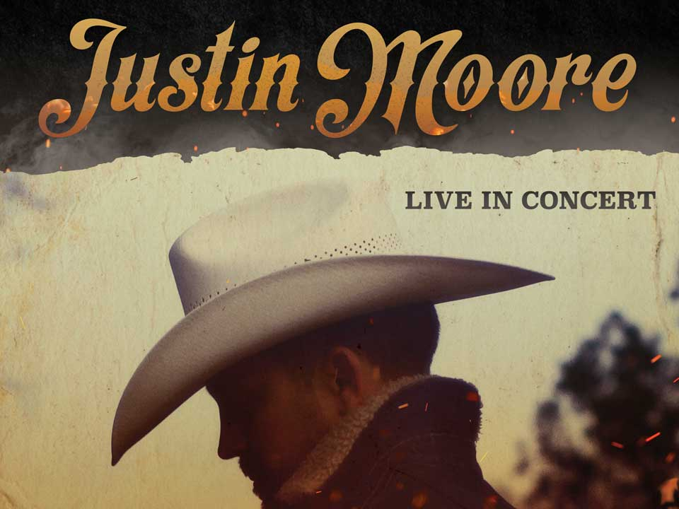 Image for JUSTIN MOORE - Friday, January 24, 2020
