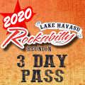 Image for 2020 Lake Havasu Rockabilly Reunion - 3 DAY PASS