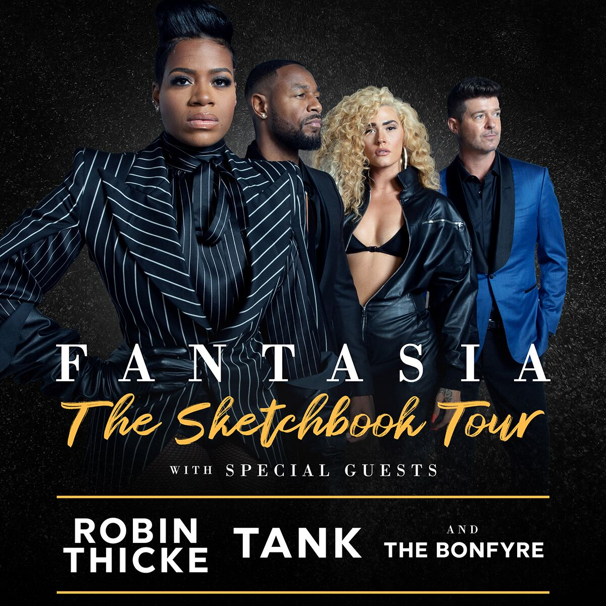 Image for Fantasia w/Robin Thicke, Tank & The Bonfyre