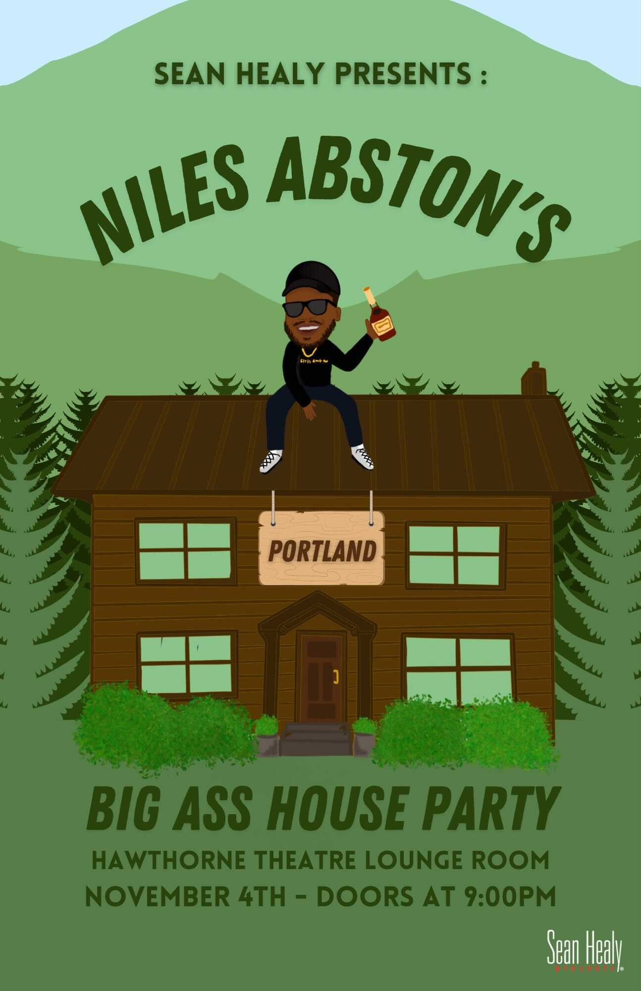 Image for The Clown Cast LIVE & Niles Abston's Big A$$ Party