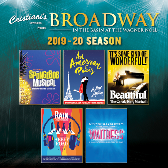 Image for 5 SHOW PACKAGE BROADWAY IN THE BASIN 2019-2020 SUBSCRIPTION