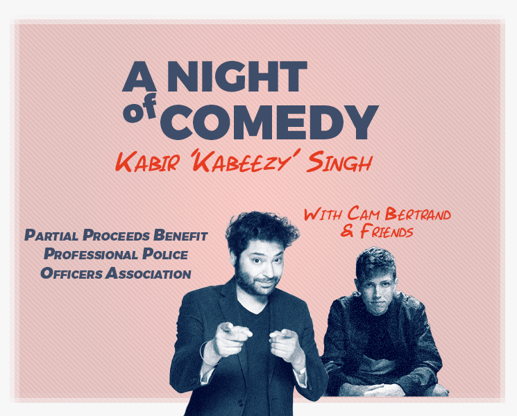 Image for NIGHT OF COMEDY Featuring Kabir Singh, Cam Bertrand and Friends