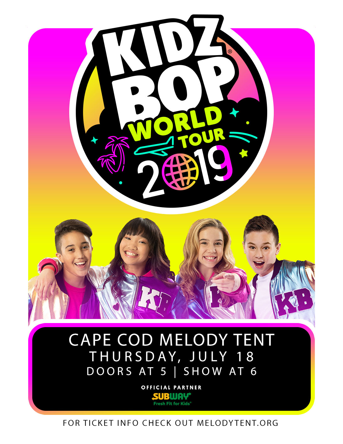 Image for An Evening with KIDZ BOP World Tour 2019