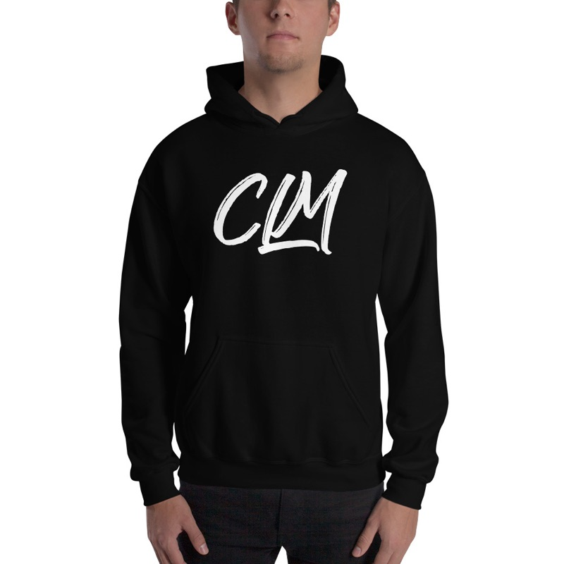 Image for Black CLM Hoodies (White Logo)