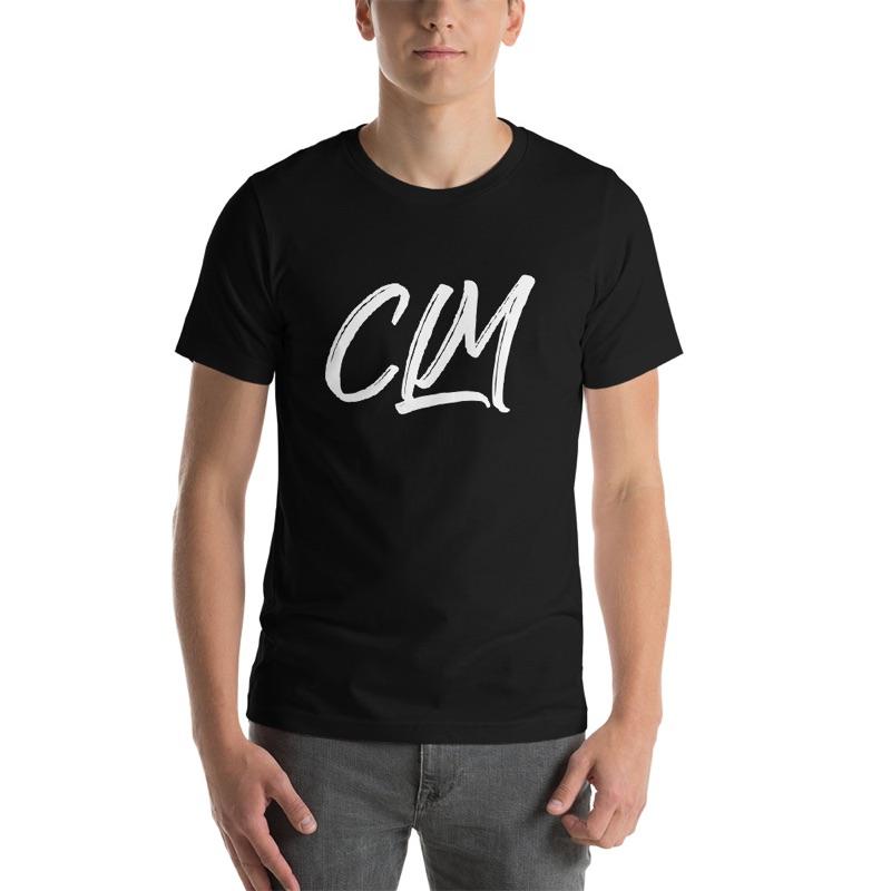 Image for Black CLM Tees (White Logo)